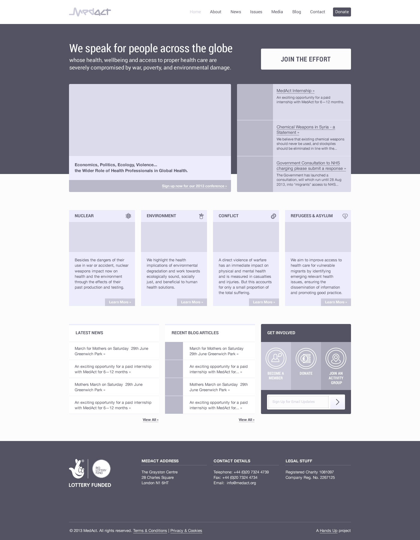 MedAct Website Design Wireframe