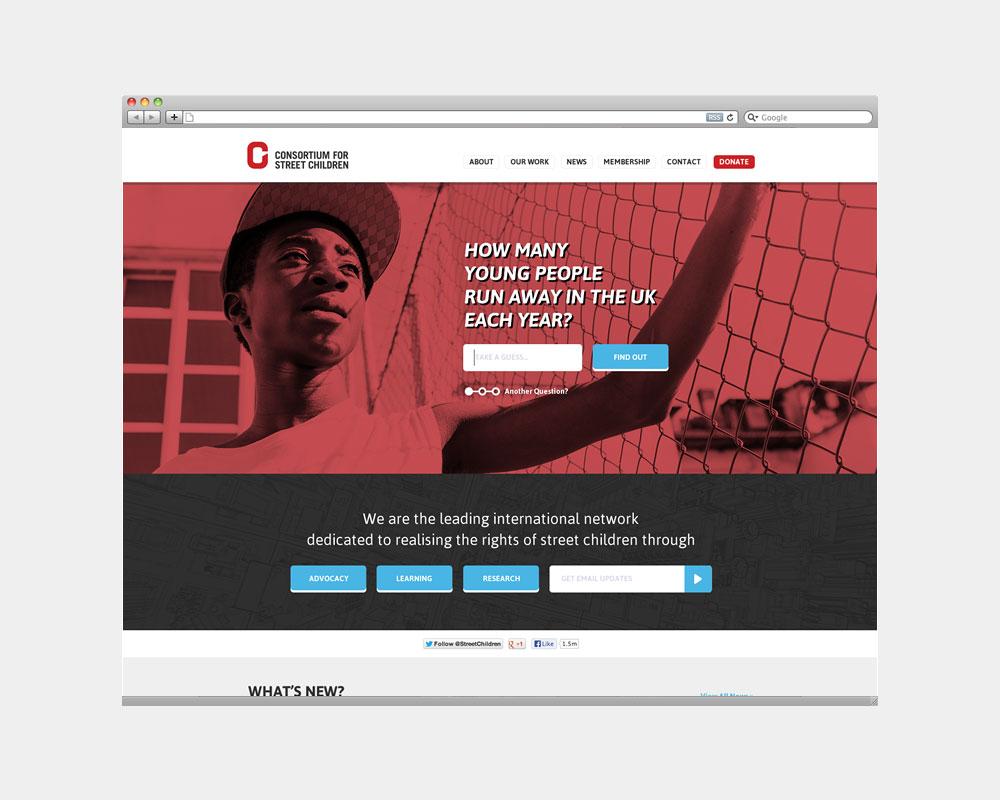 CSC Website Visual Design