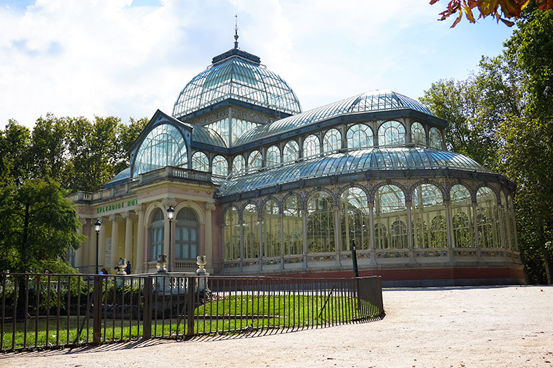 Crystal Palace in a Madrid Park