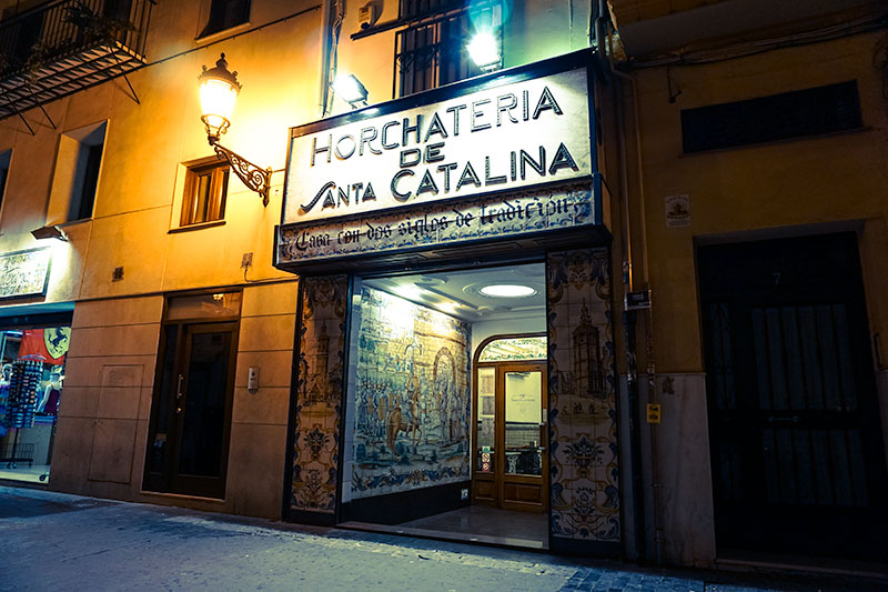 Valencia Evening Streets